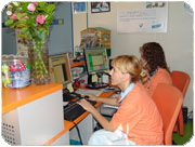 Clinica veterinaria Segovia - recepcion